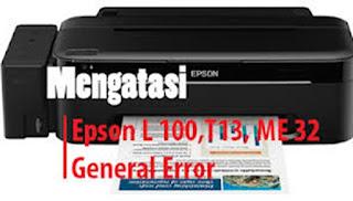 Tidak sedikit orang yang merasa jengkel ketika sedang ngeprint  Cara Memperbaiki Printer Epson T13 Blinking