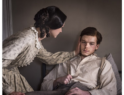Cameron Monaghan and Hannah James in Mercy Street (2)