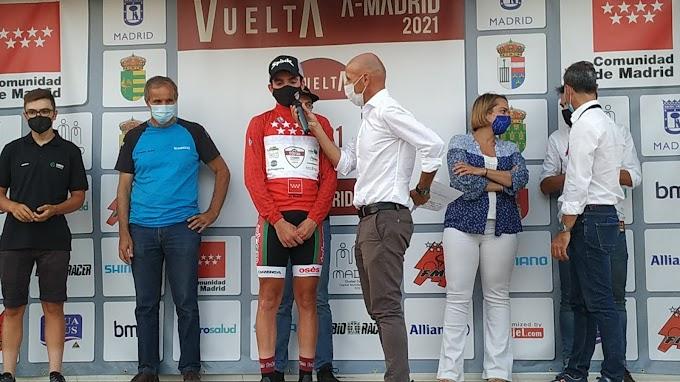 José Marín (Telco'm) es el primer líder de la Vuelta a la Comunidad de Madrid Sub23