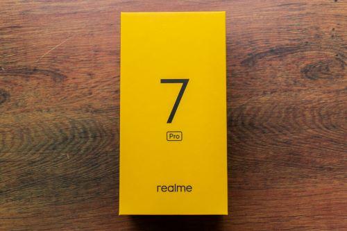Kardus Boks Realme 7 Pro