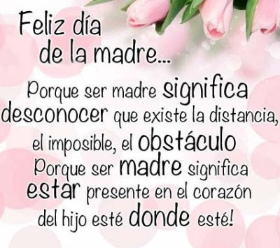 Frases Bonitas Para El Dia De La Madre Imágenes Con Frases