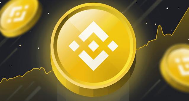 Ilustrasi Gambar Token Binance Coin (BNB)