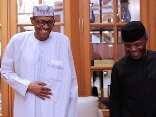President Buhari and his Vice