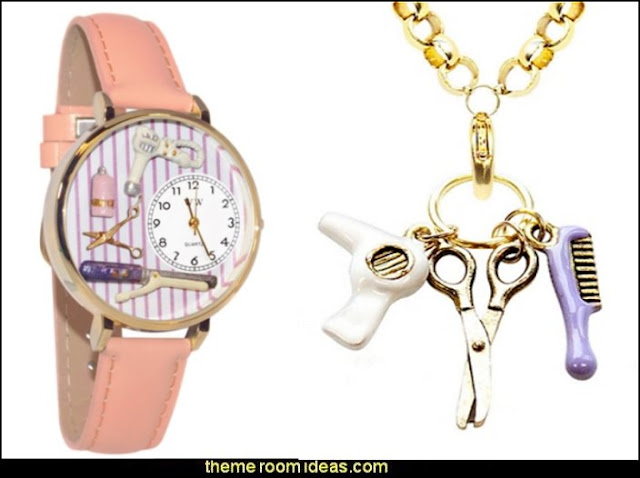 Fun gift for the Hair and Makeup Diva  Whimsical Watch