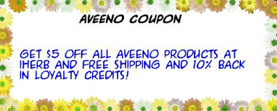 Aveeno coupon iHerb