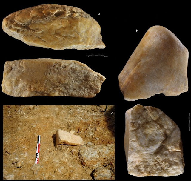 Hundreds of prehistoric stone tools discovered in abandoned Saharan gold mine