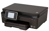 The Photosmart 6520 connects via USB or Wi-Fi and has support card slots for MMC, MS and SD. It comes with a 80-sheet sliding main entry tray, mounted at the bottom