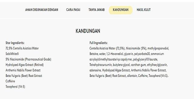 Somethinc niacinamide sabi ingredients web resmi
