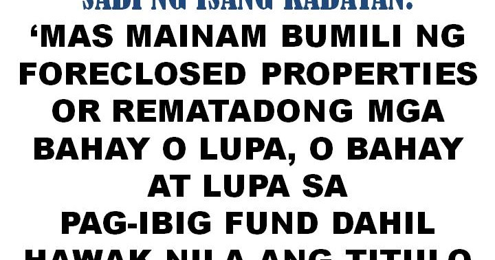 Foreclosed House And Lot In Quezon City Thru Pag Ibig