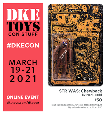 DKECON 2021 Exclusive STR WAS Chewback Resin Figure by Mark Todd x DKE Toys