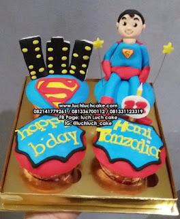 Cupcake Superman Surabaya - Sidoarjo