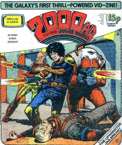 2000 AD Prog 217, Johnny Alpha