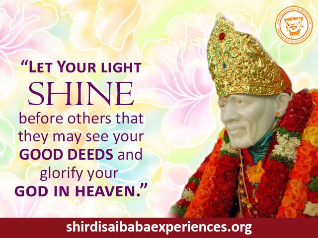 Baba Need Your Grace - Anonymous Sai Devotee
