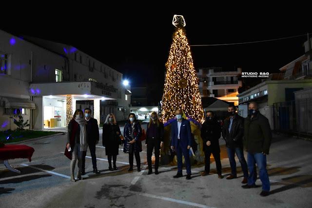 """Μαρία Ράλλη: """"Απόψε φωτίσαμε το δέντρο μας... ρίξαμε φως στην ελπίδα"""""""