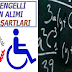 250 ENGELLİ ÖĞRETMEN ALIMI BAŞVURU ŞARTLARI