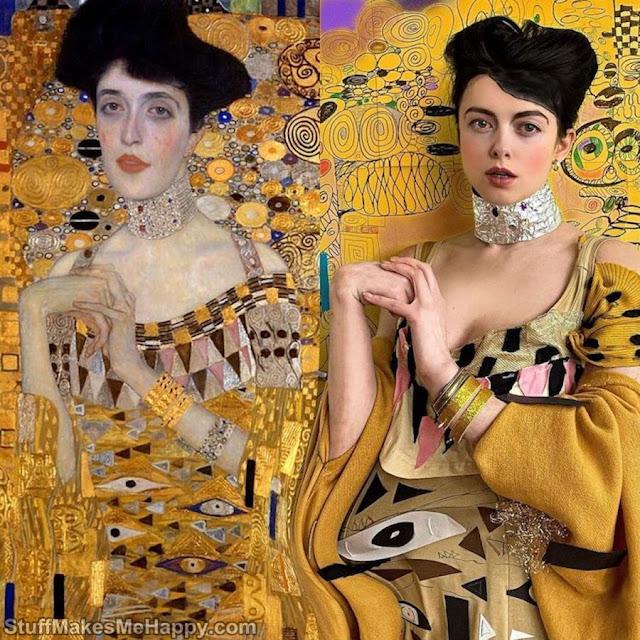 Portrait of Adele Bloch-Bauer (Gustav Klimt)
