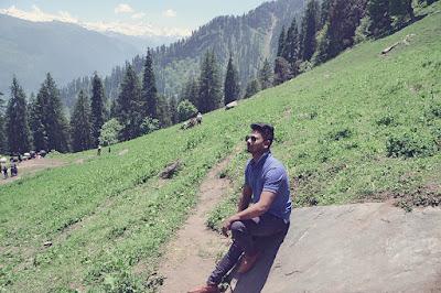 Solang valley mountain manali