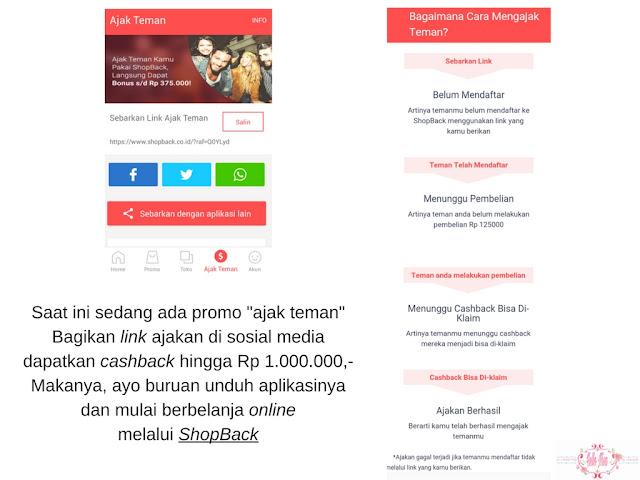 ShopBack-in Aja! : Solusi Saya Belanja Online Dengan Hemat dan Cernat