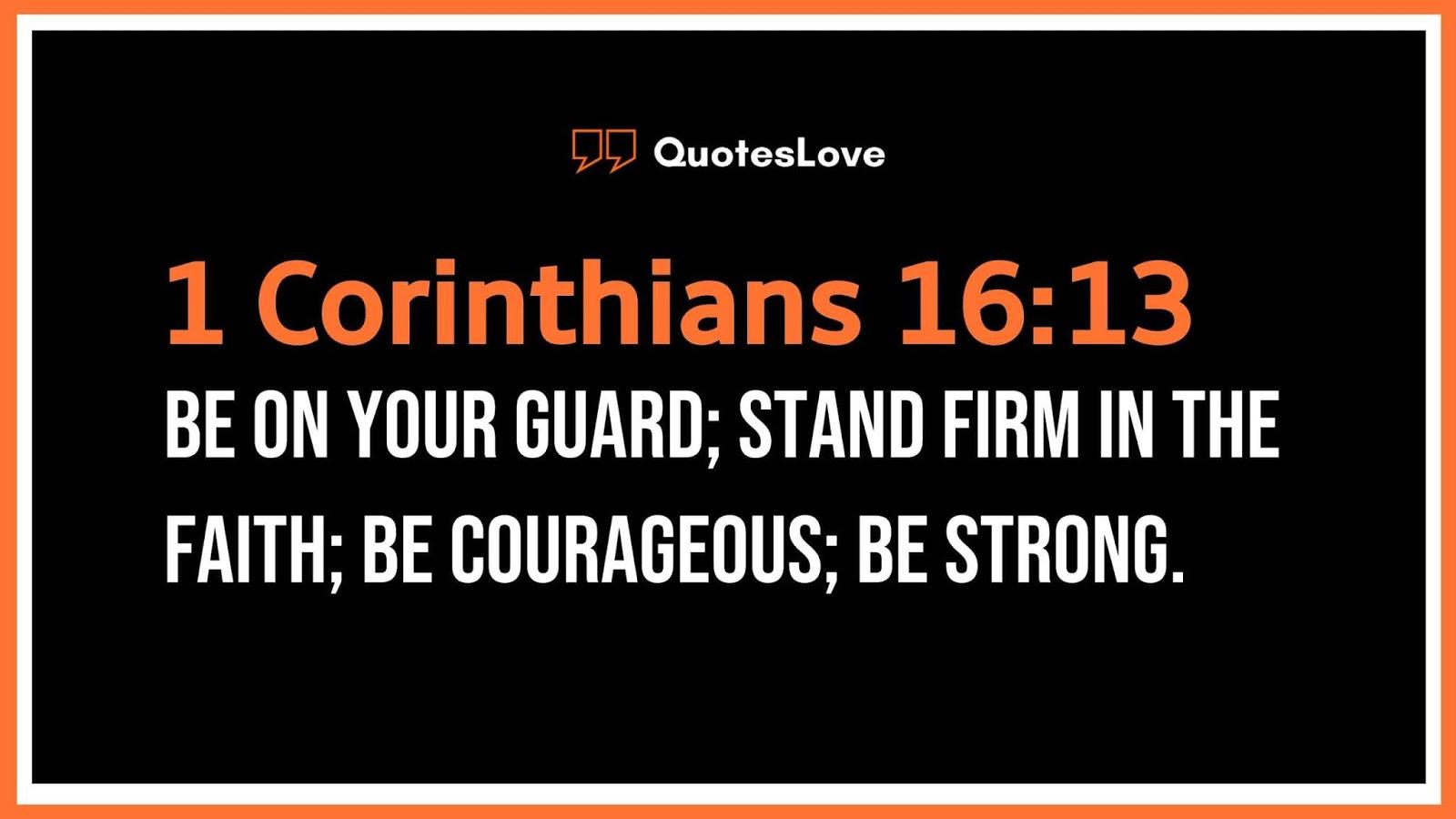 Inspirational Bible Verses For Men