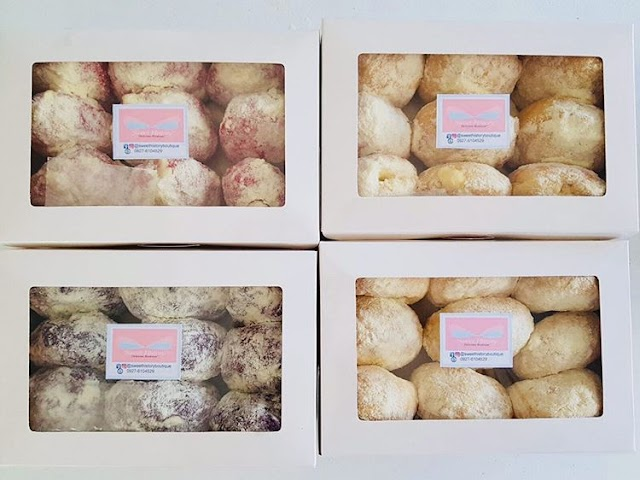 Cheesy Ensaymada and Milky Cheese Donuts by Sweet History Boutique