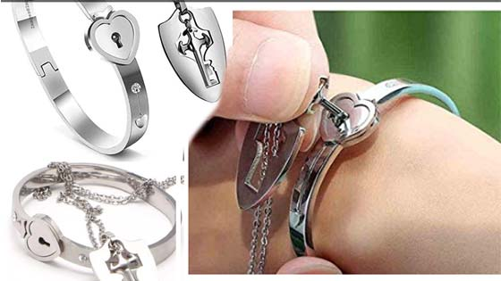 Best Valentine Day Gift's and Couple Jewelry Sets Lock & Key