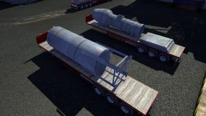 Flatbed trailer repaint