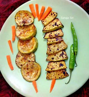 Vegetable tikka on tava / bbq on pan