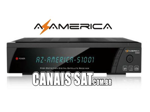 Azamerica S1001 HD Nova Atualização V1.09.21388 - 22/06/2020