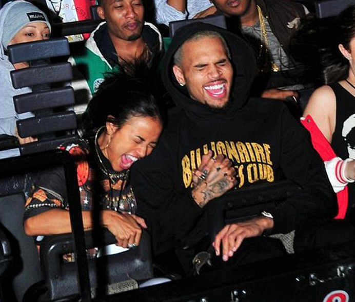 Som er dating Chris Brown 2013