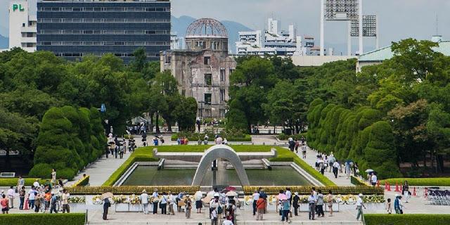 Parque conmemorativo de de paz de Hiroshima Japón