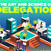 The Art And Science Of Delegation #infographic