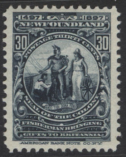 Newfoundland Colony Seal John Cabot Discovery Issue