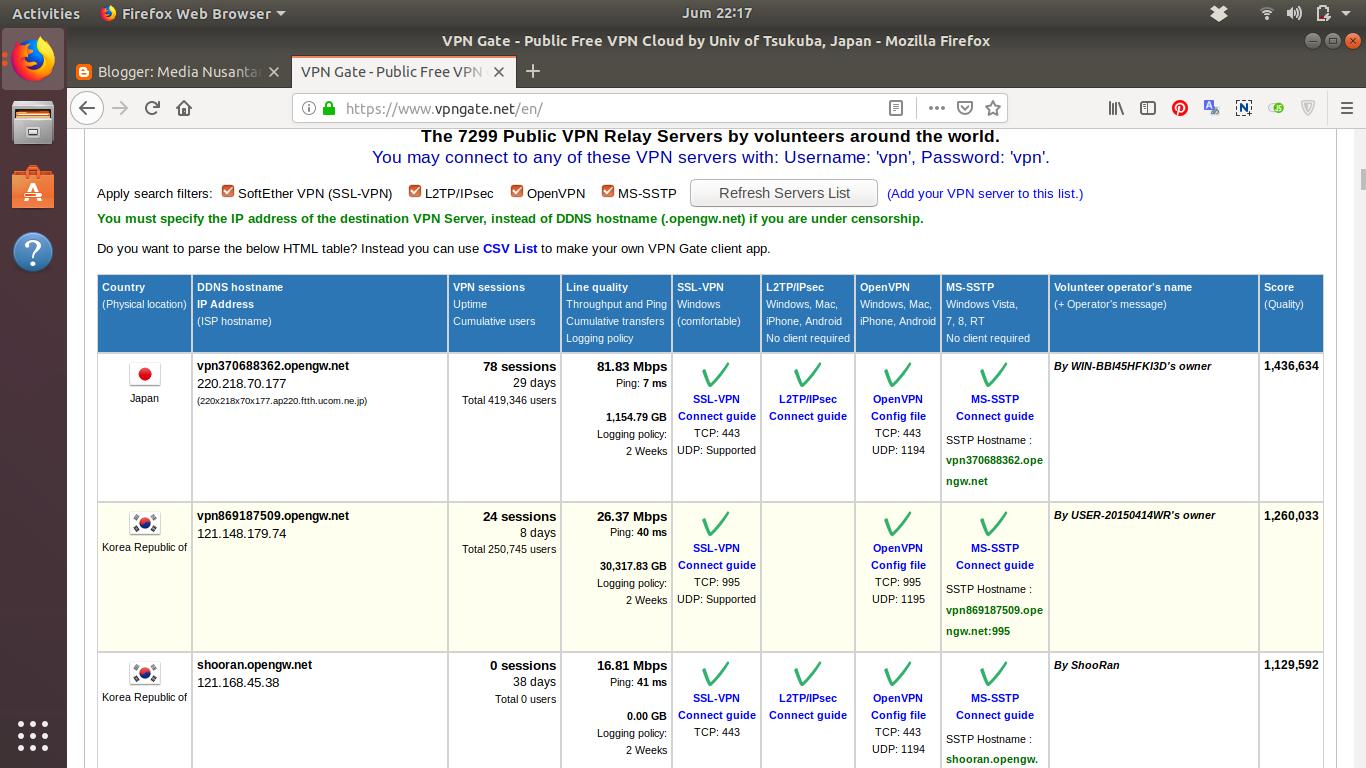 Aktifkan VPN bawaan Android