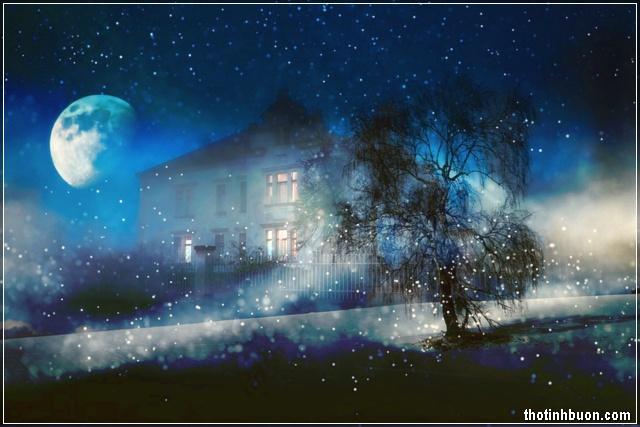 ảnh đêm trăng đẹp