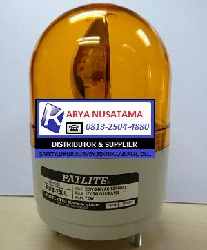 Jual Rotary Lamp Patlite Rh-230l-y  di Jombang