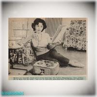 Η Γκέλυ Μαυροπούλου σε συνέντευξή της στο περιοδικό Θησαυρός (10/11/1960)