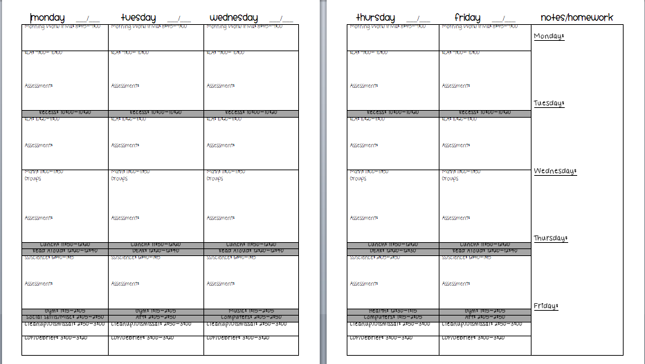daily lesson plan template microsoft word templates. multiple pdf ...
