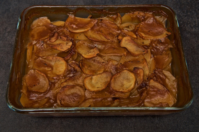 Pommes de Terre à la Boulangère - Pommes de Terre Boulangères Bœuf - Plat - Gratin - Food - Cuisine - Cooking - Cook - Pommes de terre
