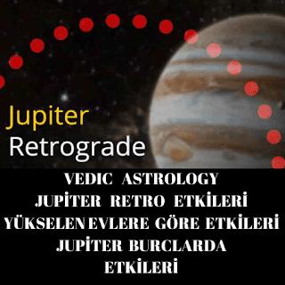 Jupiter Retrograd evlerde etkileri  nedir?