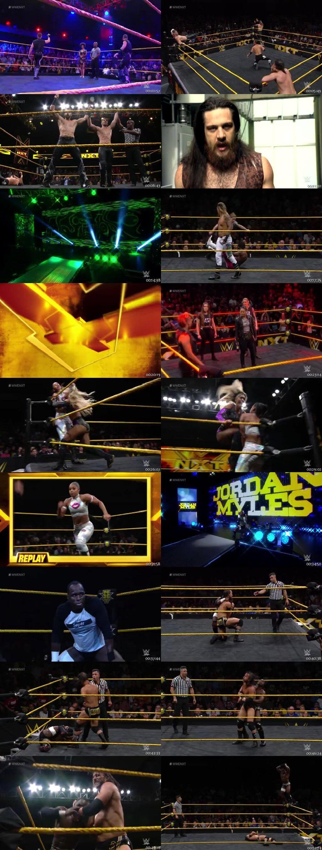 Screen Shot Of WWE NXT 4th September 2019 HDTV 480P 300MB