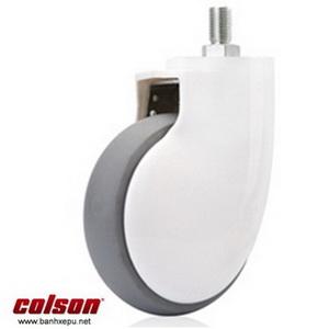 Bánh xe đẩy giường y tế Colson phi 125 lăn êm không ồn| BN-5654-465 www.banhxepu.net