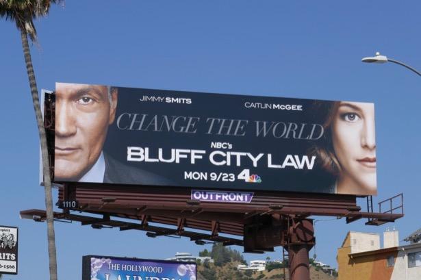 Bluff City Law series premiere billboard