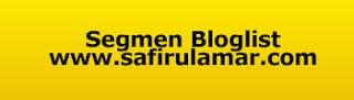 Segmen Bloglist dan Banner Header Safirul Amar