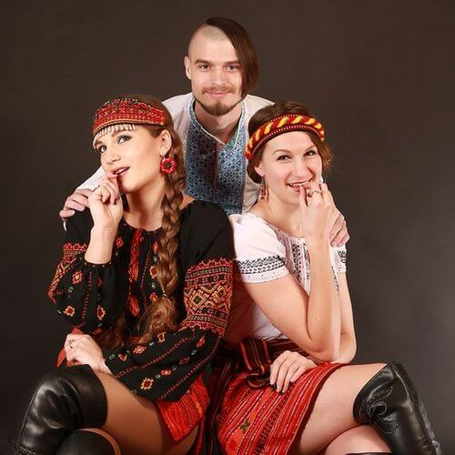 المجموعات العرقية الرئيسية في أوكرانيا