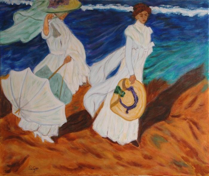 Испанский художник-самоучка. Santi Goni