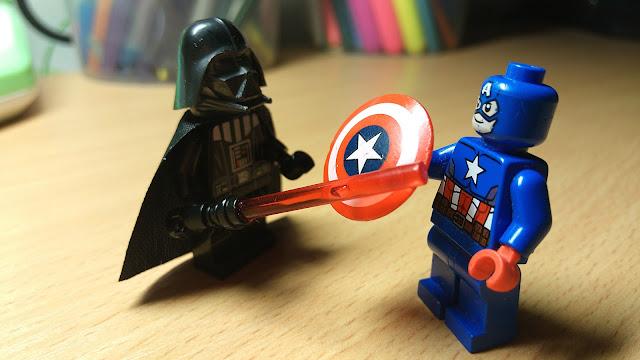 Капитан Америка vs Дарт Вейдер