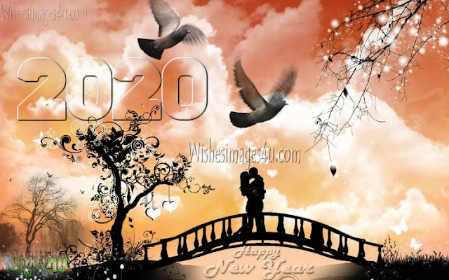 2020 New Year Love Wallpapers HD