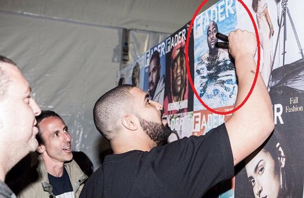 Drake Didn't Sign Davido's FADER Magazine's Cover, But Rihanna's | SEE PHOTO
