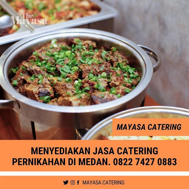 jasa catering pernikahan di Medan