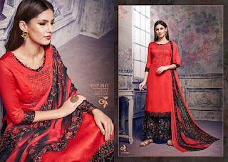 Sargam print motif Salwar kameez catalog wholesaler